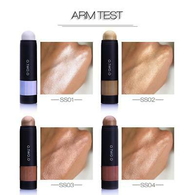 Gold Brown Highlighter Cosmetic Face Contour Brightener Shimmer Makeup