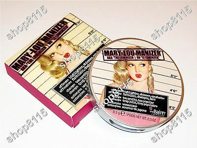 The Balm Mary Lou Manizer Highlighter Puder 8,5g 0,3 OZ Make Up Luminizer Puder