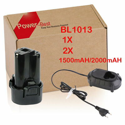 IT Makita DC10WA Charger,10,8V Batteria for BL1013 BL1014  Al litio - LG Cells