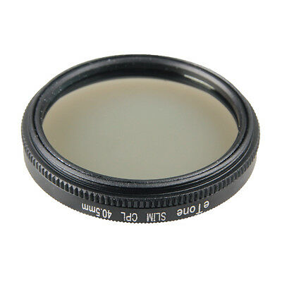 eTone New Slim 40.5mm CPL Filter For Camera Lens Protection Eliminate Reflection