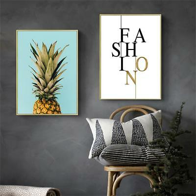 Pineapple Canvas Poster Prints Wall Art Canvas Painting Modern Home Decoration