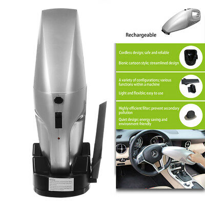 Wireless Power Auto-Staubsauger 50W 3200r/min +Ladestation+Bürste+Kurze Düse KFZ