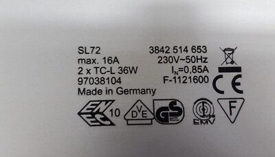 Rexroth Sl72 3842514653 Light Unit (R6S3.5)