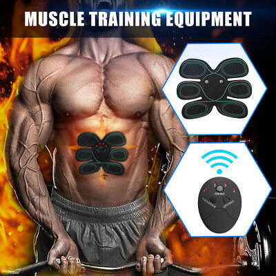 Stimulator Abdomen Muscle EMS Training Electrical Body Shape Home Trainer Abs
