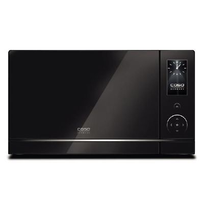 Caso MLG 23 Touch Black Mikrowelle/Lichtwellengrill