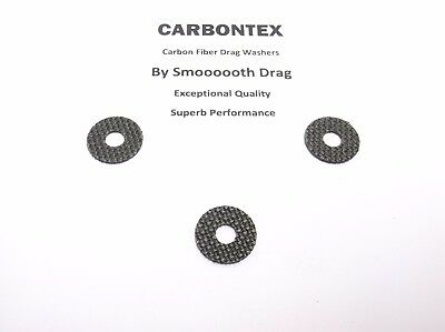 SHIMANO REEL PART Torium 14 4 Smooth Drag Carbontex Drag Washers #SDS5