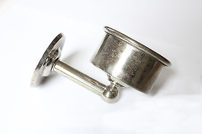 antique bathroom cup holder | landers frary & clark vintage art deco cup holder