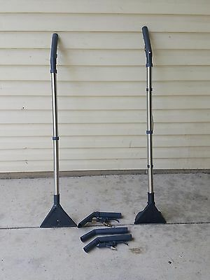 """30 wand"""" Stair Tool, & 4"""" Upholstery Tool Combo.  super light 2 lb easy to use."""