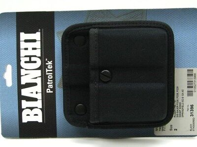 BIANCHI 8020 Black Patrol Tek TRIPLE THREAT II Magazine Mag Pouch Fits Group 2!