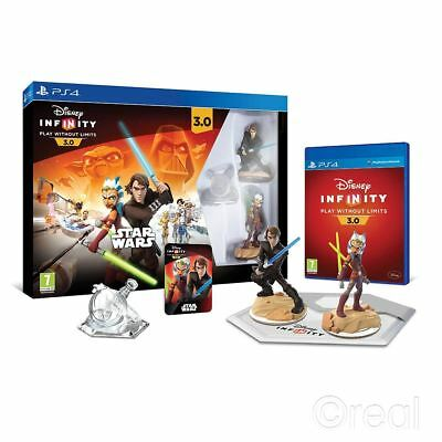 New Disney Infinity 3.0 PS4 Star Wars Starter Pack Figures Sealed PAL Official