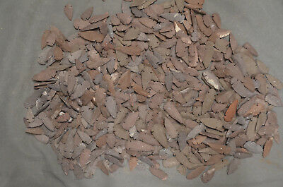 100 Red/Brown Stone Reproduction Arrowheads Arrowhead Mixed Sizes