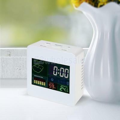 Digital Colorful LCD Indoor Temperature Humidity Meter Gauge Hygrometer