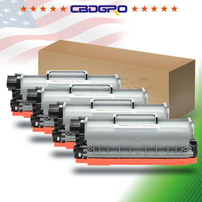 4PK High Yield TN660 TN630 Toner For Brother DCP-L2540DW MFC-L2720DW HL-L2380DW