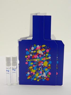 02aeda34cca4 2 X HISTOIRES de Parfums THIS IS NOT A BLUE BOTTLE 1.2 EDP Vial Sample  SPRAY 2ml