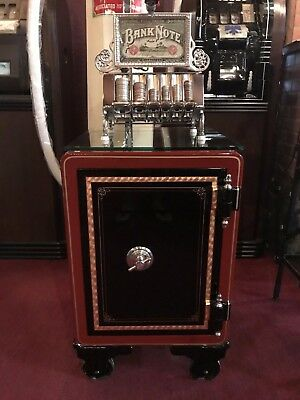 """1800's VICTOR Fully Restored Safe Ready For Your Choice Of Graphic """"Watch Video"""""""