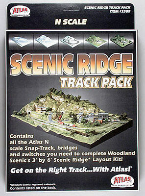NEW Atlas Code 80 Scenic Ridge Track Pack N 2588