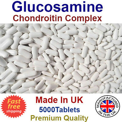 Glucosamine,Chondroitin,MSM,Vitamin C,Complex Joint care 5000 Tab In Box