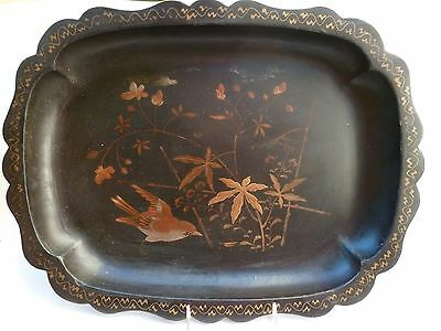 Fine Antique Japanese Lacquer Tray