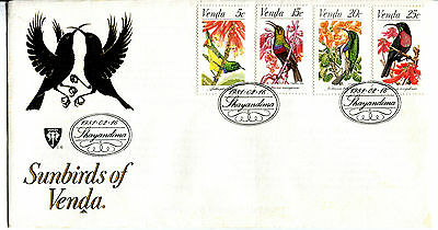 Venda 1981 Sun birds  FDC