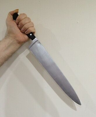 Foam Latex Myers Style Kitchen Knife Realistic Handheld Movie Prop Halloween