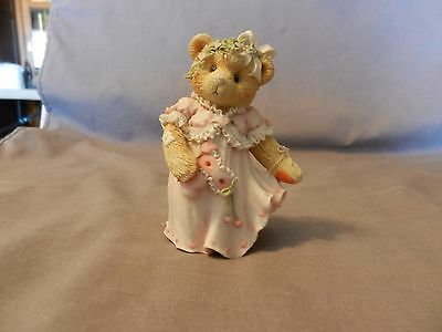 Marian You're The Hero Of My Heart Enesco Bear Figurine 1995 #5E5-811