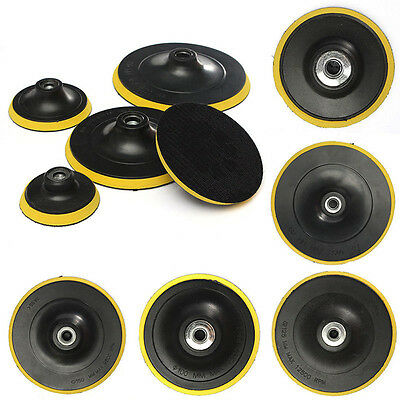 3/4/5/6/7'' M14 Backing Pad Car Polishing Buffing Plate Rubber  Polisher Buffer