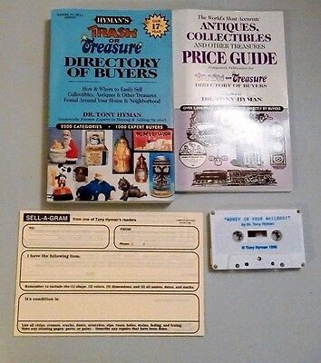 Trash Or Treasure Directory Of Buyers/ Antiques Collectibles Dr.tony Hyman