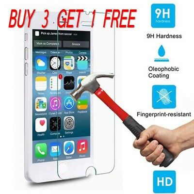 9H Premium Real Screen Protector Tempered Glass Protective Film Guard For iPhone