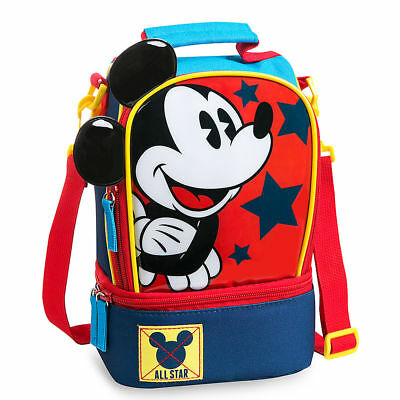 DISNEY Store LUNCH Tote MICKEY MOUSE School 2017 NWT