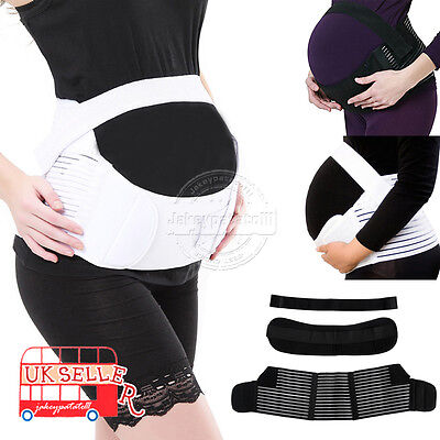Pregnancy Back Support Maternity Belt Waist Belly Band Baby Bump M L XL 2XL AU