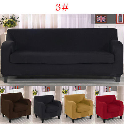 1/2/3 Seater Sofa Slip Cover Stretch Protector Soft Couch Covers Washable Settee