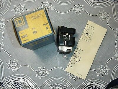 Square D Pilot Light Assembly 9001TP1 WO/CAP 120V NEW