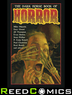 THE DARK HORSE BOOK OF HORROR HARDCOVER New Hardback (368 Pages)