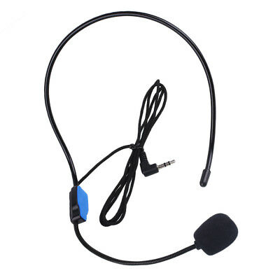 3.5mm Loudspeaker Voice Amplifier Microphone Headset For Teaching Class