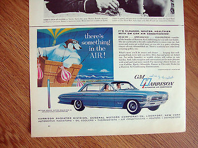 1961 Oldsmobile 98 Ad  GM Harrison Air Conditioning