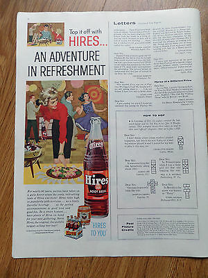 1960 Hires Root Beer Ad Party Theme Rates High in Popularity with Everyone