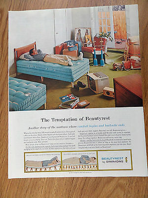 1959 Beautyrest by Simmons Ad Temptation