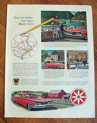 1959 Ethyl Gasoline Ad Old Pennsylvania