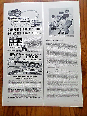 1955 Tyco HO Electric Trains Ad