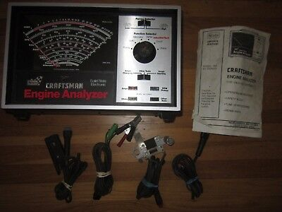 SEARS Craftsman Solid State Electronic Engine Analyzer Model No. 161.210400