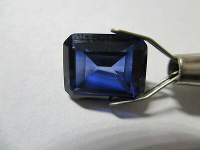 SAPPHIRE CORUNDUM SYNTHETICALLY GROWN [NOT SIMULANT] 5.20Ct  MF8651