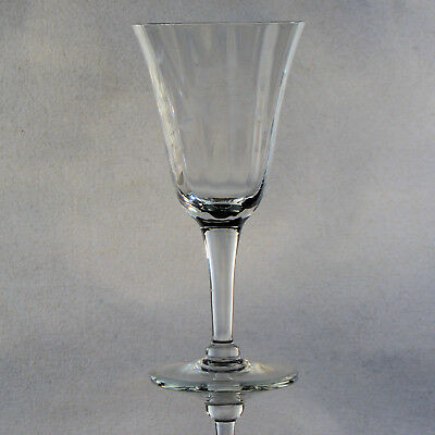"""Set Of 6 Hughes Cornflower Sherry Glasses - Approx. 5-1/2"""" Tall"""
