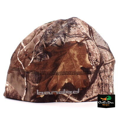 58692b809a0 NEW BANDED GEAR UFS FLEECE BEANIE SKULL CAP HAT STOCKING b LOGO XTRA CAMO