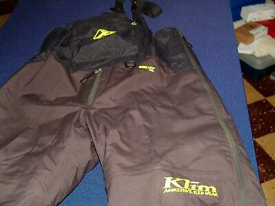 Klim Mens  Gore-Tex  Snowmobile Bibs size L Tall