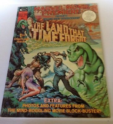 Marvel Movie Premiere The Land That Time Forgot Magazine #1! Great Shape! 1975!