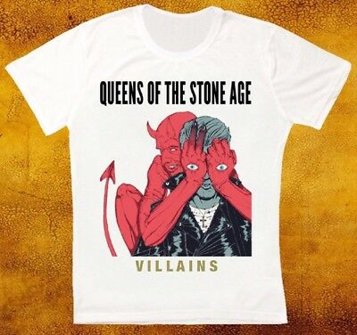 Queens Of The Stone Age Villains Rock Retro Vintage Hipster Unisex T Shirt 1436