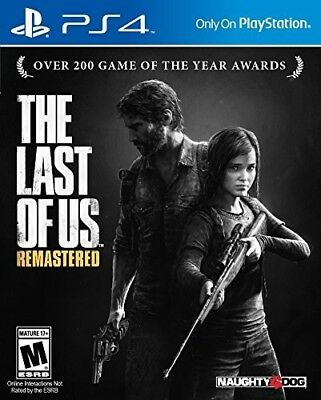 Playstation 4 - The Last of Us Remastered New Video Game