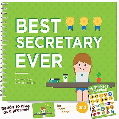 EMPLOYEE APPRECIATION GIFT IDEAS - Recognition Award for the Best Secretary |...