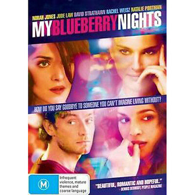 My Blueberry Nights NEW DVD (Region 4 Australia)