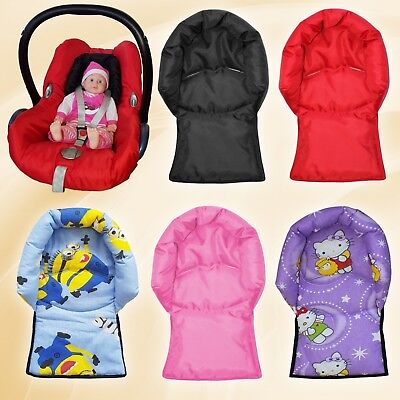 Infant Baby Toddler car seat stroller travel head support pillow Black, Minions